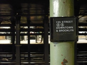 Parada del metro de la 135 Street