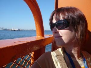 En el Ferry de Staten Island